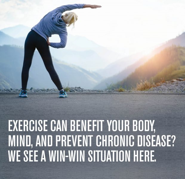 Exercise to prevent disease