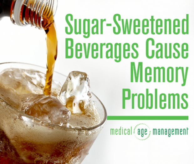 Sugar-Sweetened Beverages and Memory Problems