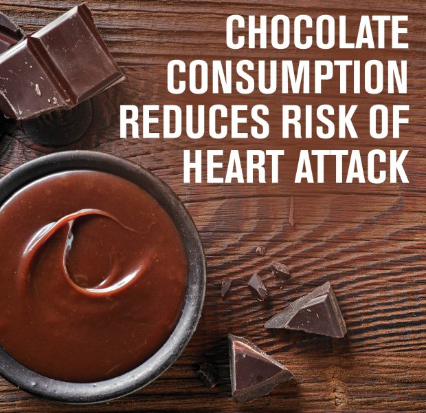 Chocolate Reduces Risk of Heart Attack