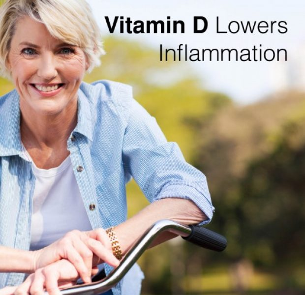 Vitamin D Lowers Inflammation