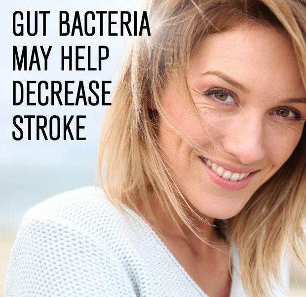 Gut Bacteria May Help Decrease Stroke