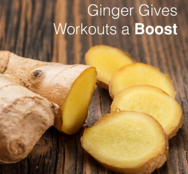 Ginger Gives Workouts a Boost