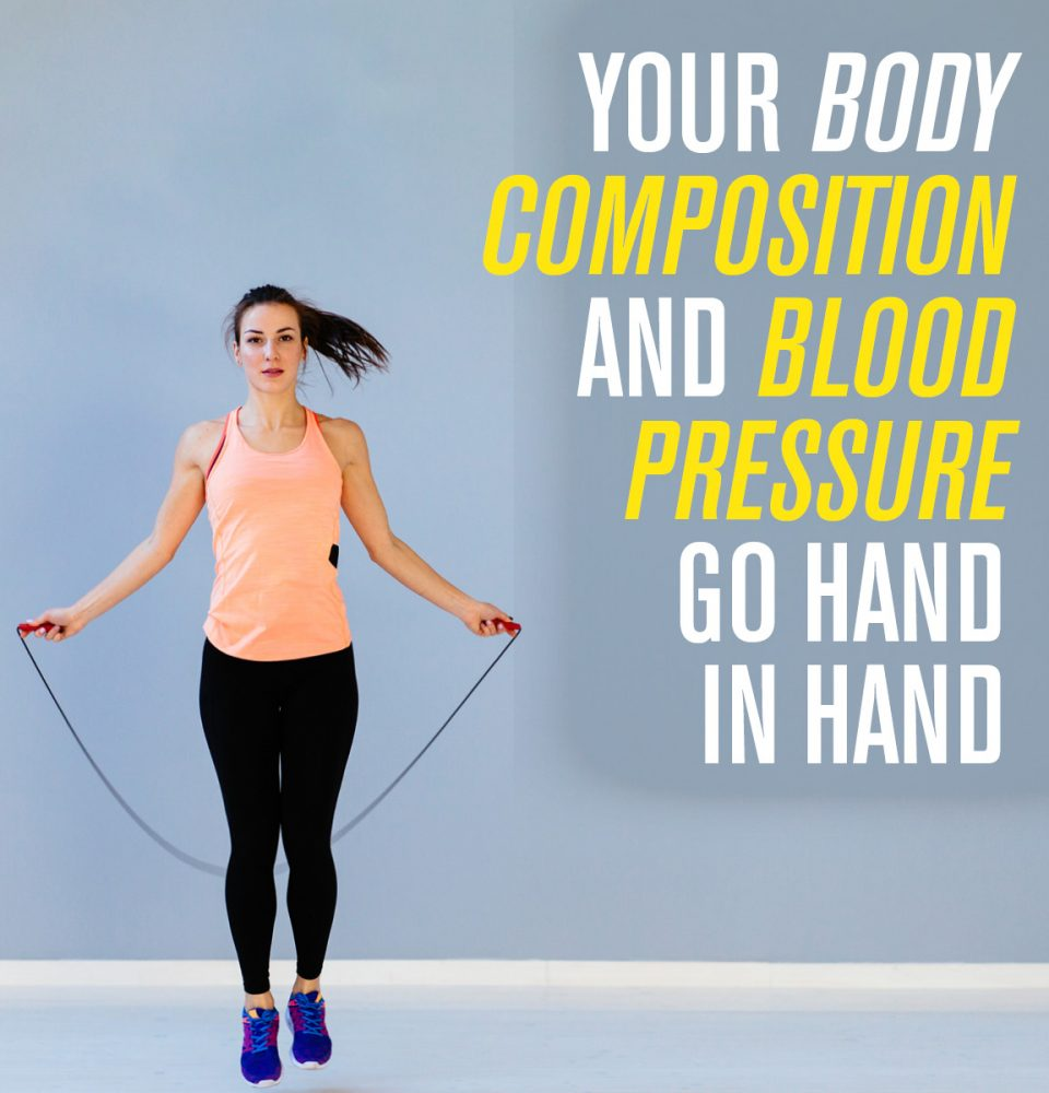 Body composition and blood pressure