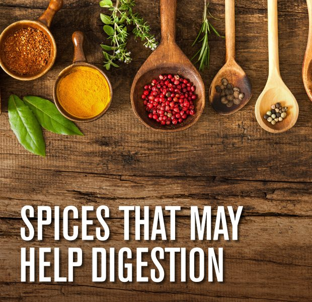 Spices that may help digestion