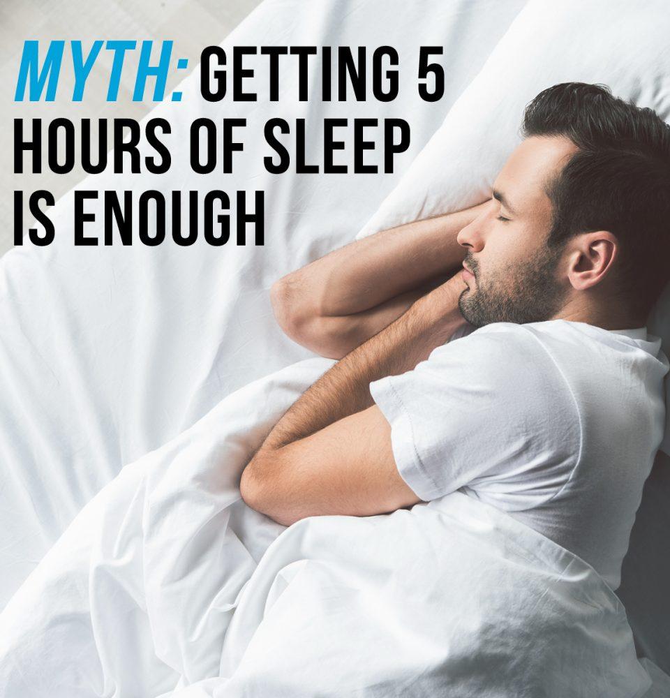 Myth about sleep