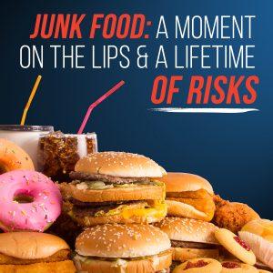 Junk food risks