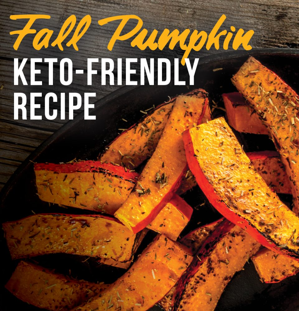 Keto-friendly fall pumpkin
