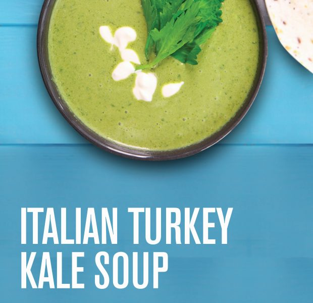 Italian Turkey Kale Soup